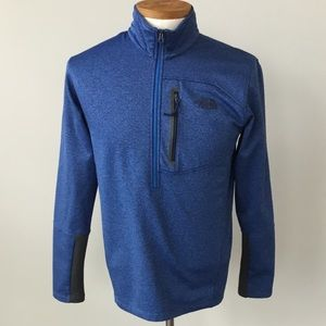 North face Half Zip Sweater